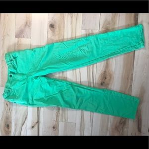 Green Hanna Andersson pants